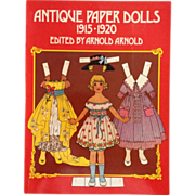SALE Reproduction Antique Paper Dolls 1915-1920