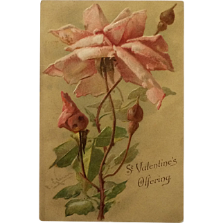 SALE Catherine Klein Postcard - St. Valentine's Day Offering