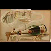 SALE Tuck's Valentine Postcard- Love's Revels