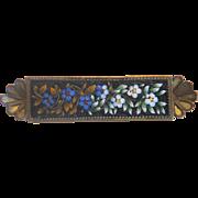 Antique Micro Mosaic brooch, 19th century