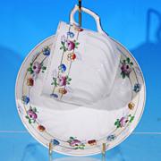 Vintage H B JAPAN China Floral Swirl Tea Cup & Saucer Set