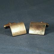 Vintage SWANK 12K GOLD Filled Cuff Links