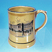 Vintage IRISH WADE Ceramic Buckingham Palace Beer Mug IRELAND