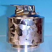 Vintage RONSON Silver Tone Varaflame Luralite Table Lighter