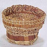 Makah Indian Basket - Phyllis Pearson