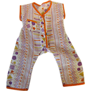 Beach Pajamas for a Composition Doll