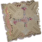 Victorian Valentine Pop-up Card