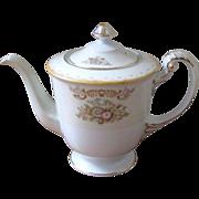 1940's Sango Porcelain Floral Teapot and Sugar Bowl - Occupied Japan