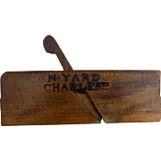 USS Constitution Navel Yard Plane 1890