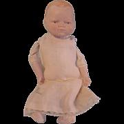 SALE Vintage Schackman Bisque Head Baby Doll to Dress