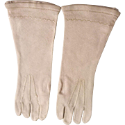 Lovely Slender Antique Doll Gloves for French Bebe or Fashion Doll