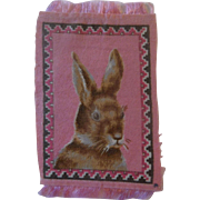 Darling Bunny Rabbit Dollhouse Rug ... Think Spring!