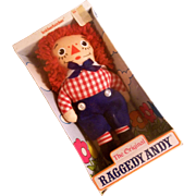 "SALE Vintage NRFB Knickerbocker 6"" Raggedy Andy"
