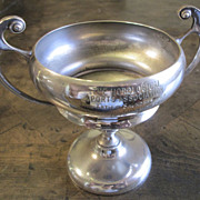 Vintage Silver Plate English Loving Cup Trophy