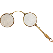 Antique 1/20TH 12KT Gold Filled Lorgnette, Circa 1900