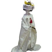 Large Japanese Doll Traditional Wedding Kimono Dress Shinto Wedding Gofun Doll