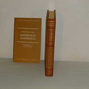 SALE Franklin Library:  Leather Bound: Winesburg, Ohio, by Sherwood Anderson