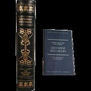 Giovanni Boccaccio Stories from the Cameron Franklin Library