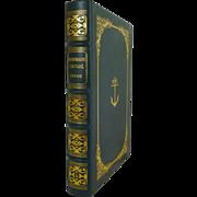 SALE Robinson Crusoe by Daniel Defoe Leather Bound Easton Press
