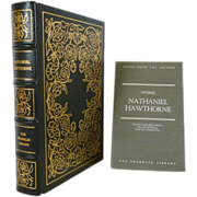 Nathaniel Hawthorne Stories Franklin Library Leather Bound