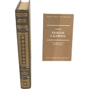Erskine Caldwell, Stories Leather Bound Book Franklin Library