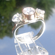 Sparkling Multi Cubic Zirconia Ladies Ring