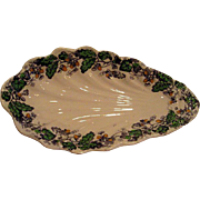 Ironstone Clementson Oak and Ivy Pickle Dish
