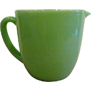 Fire King Oven Ware Jade Ite Milk Pitcher