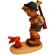Hummel The timid Hunter Figurine