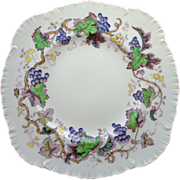 SOLD Wedgwood 'Jefferson Vine' Square Luncheon Plate