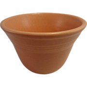 1935 Metlox  'Mission Bell' Small Peach Mixing Bowl