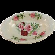 Kernewek Pottery Floral Soap Dish