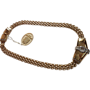 NINA Ricci Paris Panther style collar necklace NWT