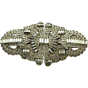 HUGE 1930 Clip Duette Pin Brooch !!!! One of a kind!