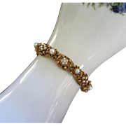 SALE Delicate Florenza Faux Pearl Bracelet