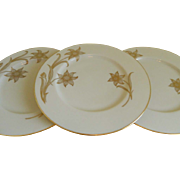 Elegant Set of 12 Lenox Plates, Daybreak T - 417, 1942 - 1967