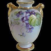 Morimura, Nippon Hand Painted Vase, 1911 - 1920