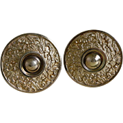 Victorian Brass Curtain Tiebacks