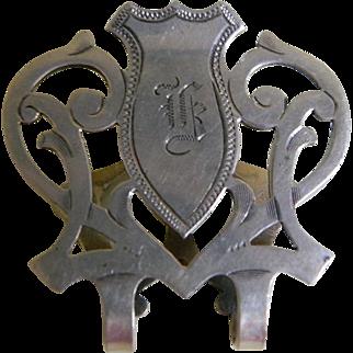 Art Nouveau RLB Sterling Silver Money Clip