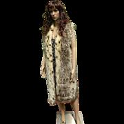 1970's Fake Fur Long Vest