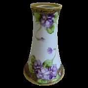 Lovely Hand Painted Morimura Nippon Vase 1891-1921