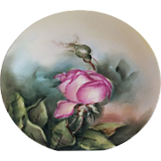 Limoges Tressemann & Vogt Hand Painted Plate 1892-1901