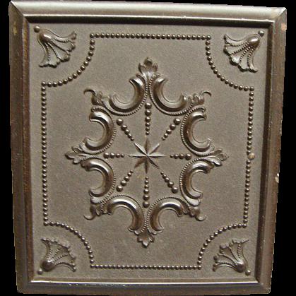 Pecks 1/6th Plate Gutta Percha Daguerreotype Case Dated 1854 Mint