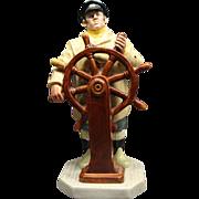 Vintage Royal Doulton The Helmsman Figurine HN 2499 MINT