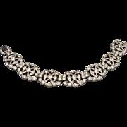 Wonderful Vintage Rhinestone Paste Bracelet Ca 1930