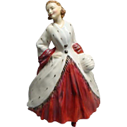 Wonderful Royal Doulton Figurine THE ERMINE COAT HN1981 Retired 1967