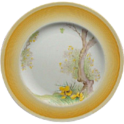 Shelley Art Deco Flower and Tree Plate