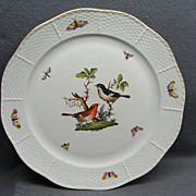 SALE PENDING Herend Rothschild Bird Serving Platter Tray