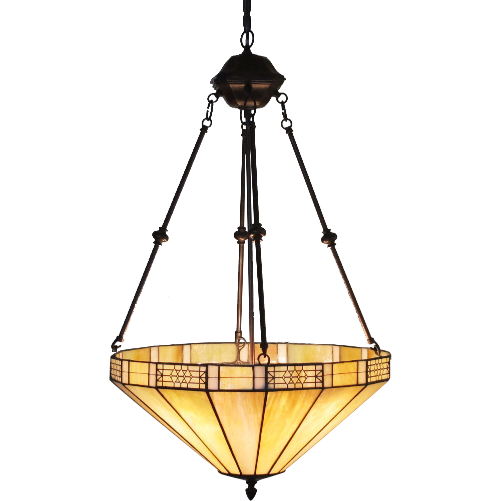 leaded caramel slag glass lamp iridescent hanging pendant ceiling from. Black Bedroom Furniture Sets. Home Design Ideas