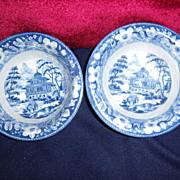 "Staffordshire Custard Bowls-quantity of 2  -  5 1/2"" round"